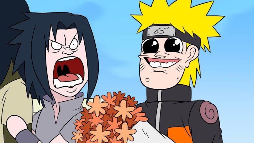 Hình ảnh Naruto chế vui