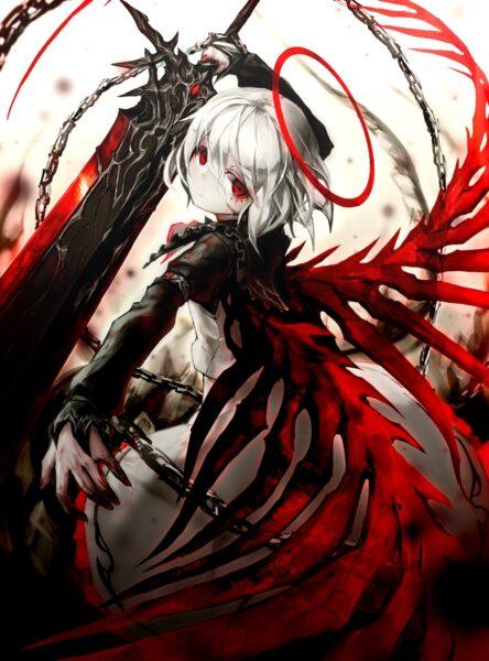 Hình ảnh nền anime ác quỷ - Copy