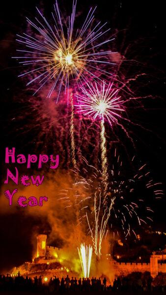 Hình ảnh nền đẹp chúc mừng năm mới dành cho điện thoại