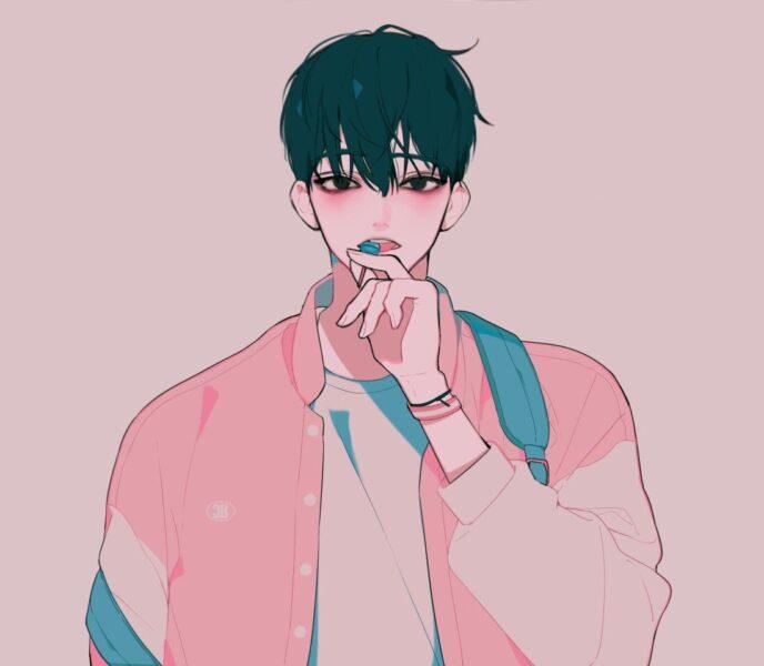 Hình ảnh người con trai anime Hàn Quốc