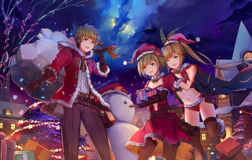 Hình ảnh những anime mùa đông
