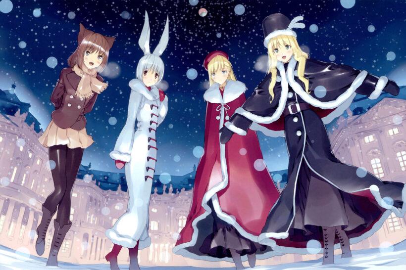 Hình ảnh những anime mùa đông đẹp