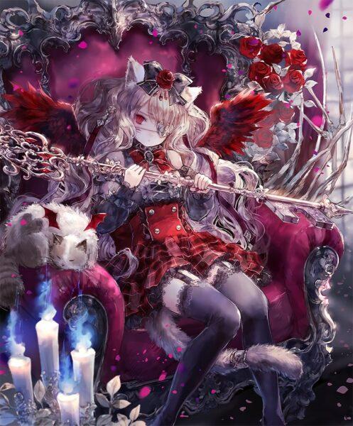 Hình ảnh nữ anime ác quỷ