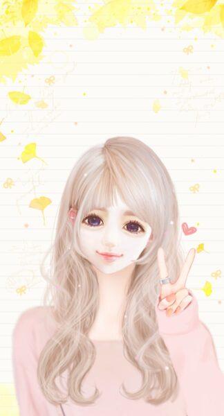 Hình ảnh nữ anime Hàn Quốc