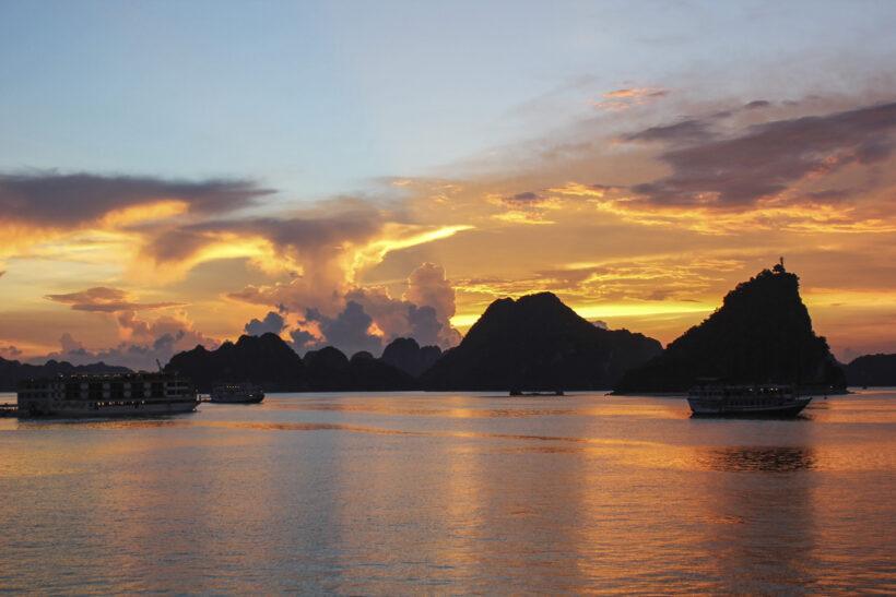 Hình ảnh phong cảnh bình minh biển đẹp