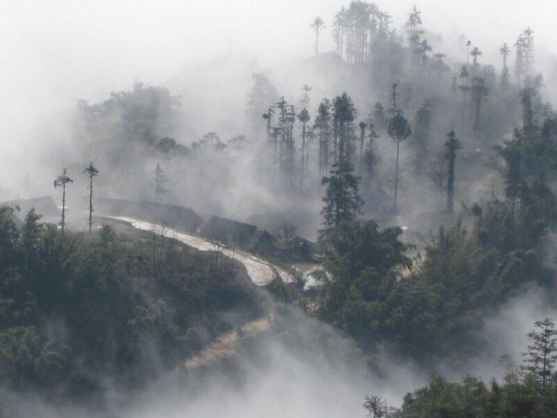 Hình ảnh sương mù Sapa