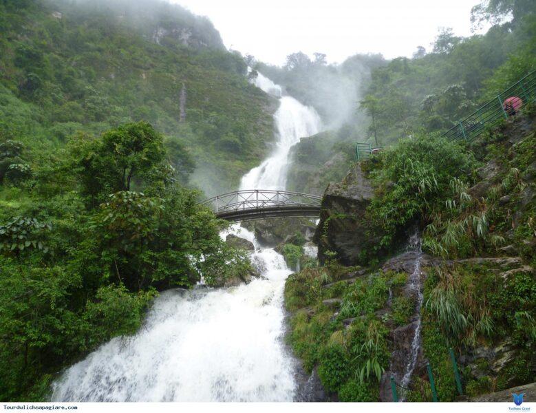 Hình ảnh thác nước đẹp Sapa