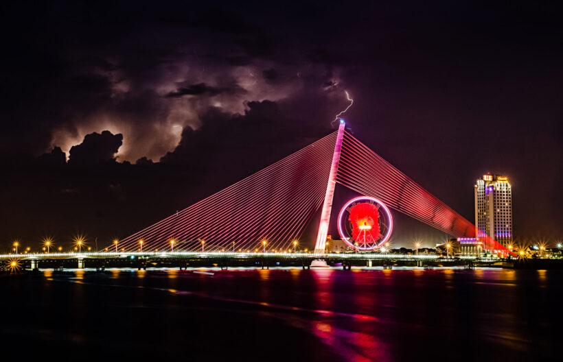 hình ảnh thành phố đà nẵng buổi tối