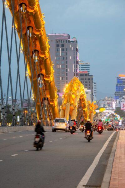 hình ảnh thành phố đà nẵng - cầu rồng đà nẵng