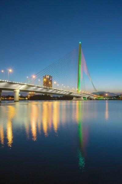 hình ảnh thành phố đà nẵng - cầu trần thị lý