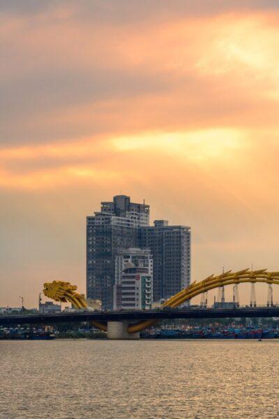 hình ảnh thành phố đà nẵng chiều hoàng hôn