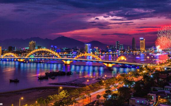 hình ảnh thành phố Đà Nẵng về đêm đẹp