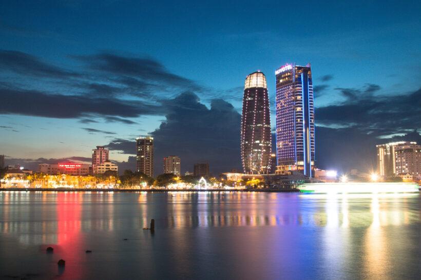 hình ảnh thành phố đà nẵng về đêm lung linh