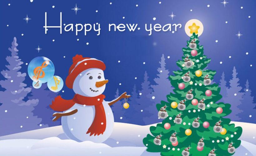 Hình ảnh thiệp chúc mừng năm mới