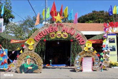 hình ảnh thiết kế cổng trại