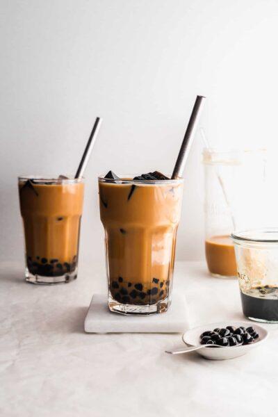 Hình ảnh trà sữa đẹp nhiều topping