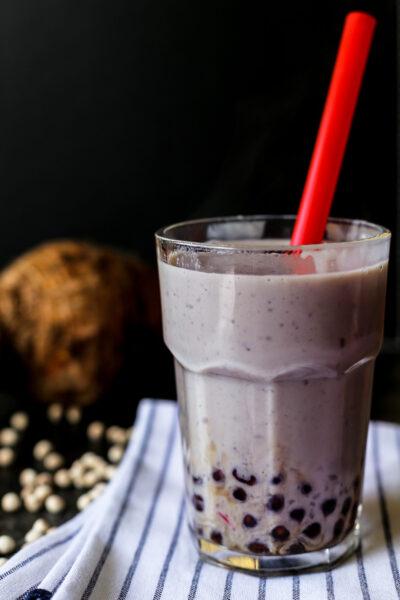 Hình ảnh trà sữa đẹp - trà sữa khoai môn