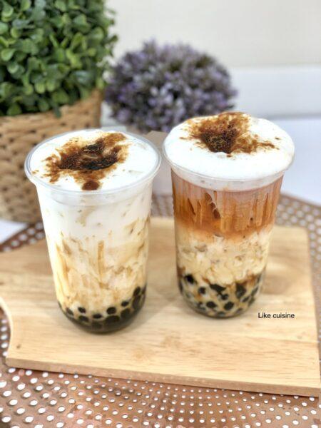 hình ảnh trà sữa trân châu đường đen