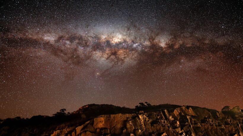 Hình Galaxy làm Background