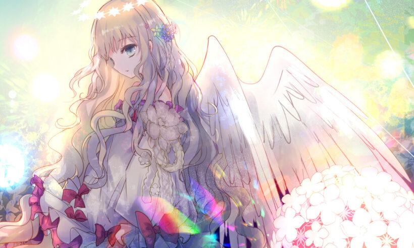 Hình nền anime thiên thần
