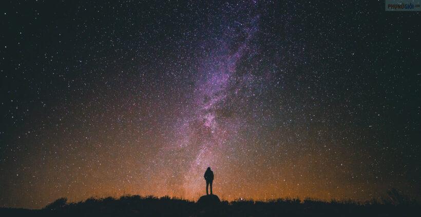 Hình nền bầu trời đêm đẹp