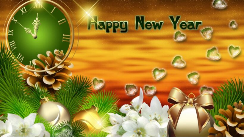 Hình nền chúc mừng năm mới đẹp nhất