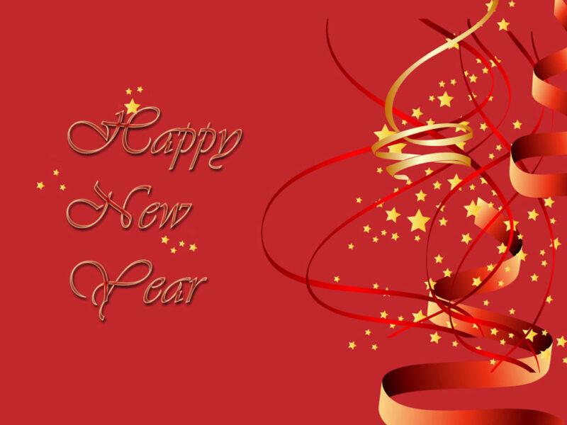 Hình nền chúc mừng năm mới may mắn