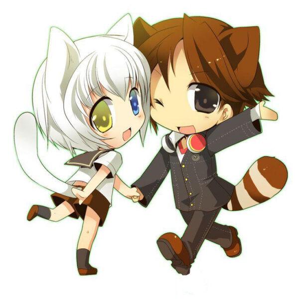 hoạt hình tình yêu dễ thương, cute