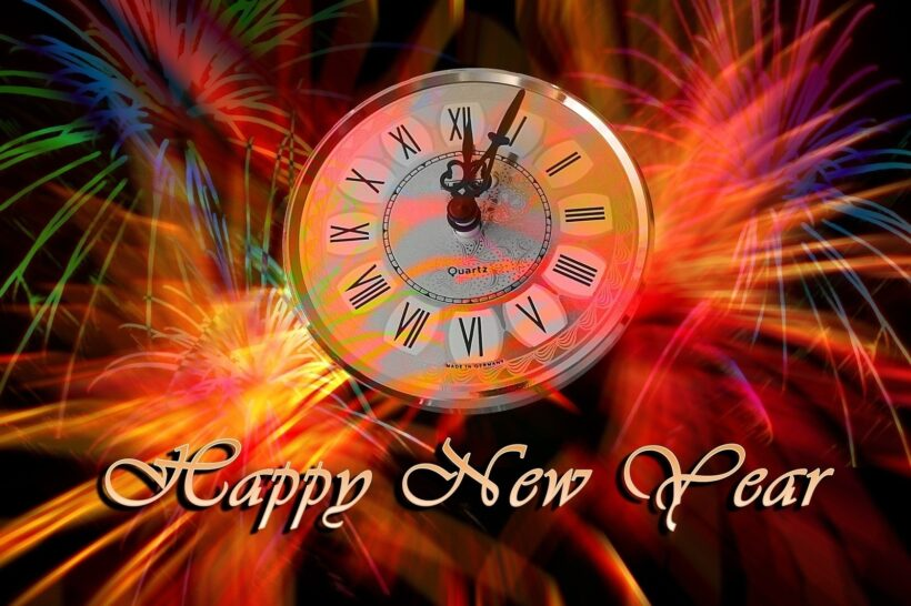 Khoảnh khắc giao thừa năm mới