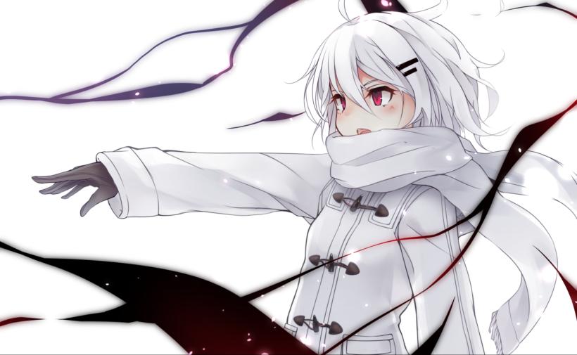 Nữ anime tóc bạch kim, đẹp