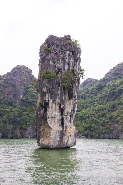 Thiên nhiên đẹp ở Hạ Long