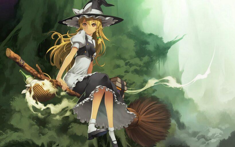 Vẽ tranh anime Halloween đẹp