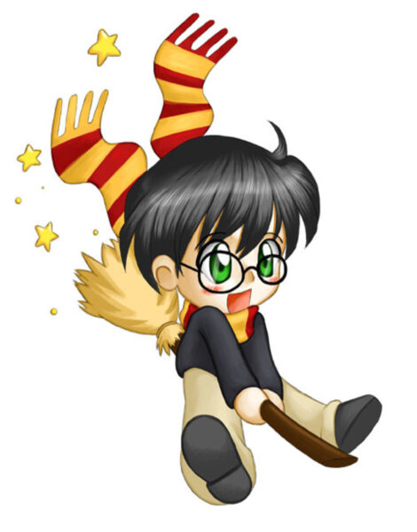 ảnh Hary Potter chibi cute