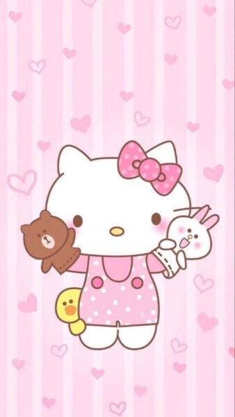 ảnh Hello Kitty dễ thương