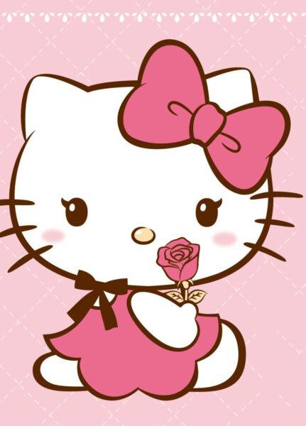 ảnh nền Hello Kitty dễ thương