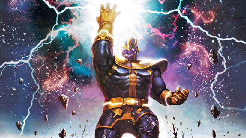 Ảnh Thanos làm hình nền Desktop