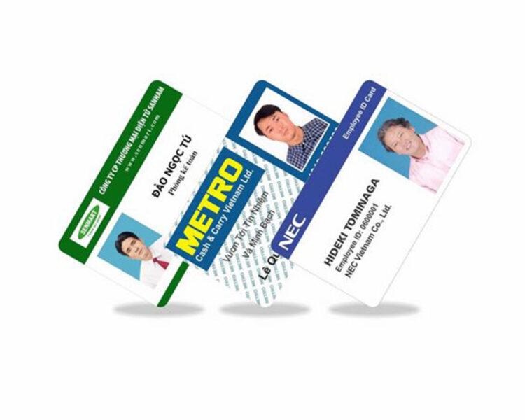 Các mẫu thẻ nhân viên đẹp