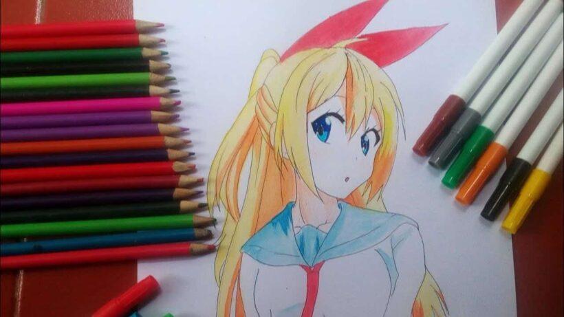 Cách vẽ anime