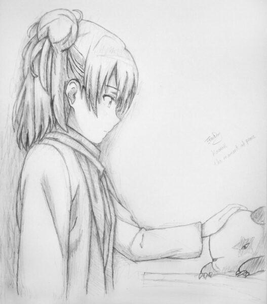 Cách vẽ anime bằng bút chì