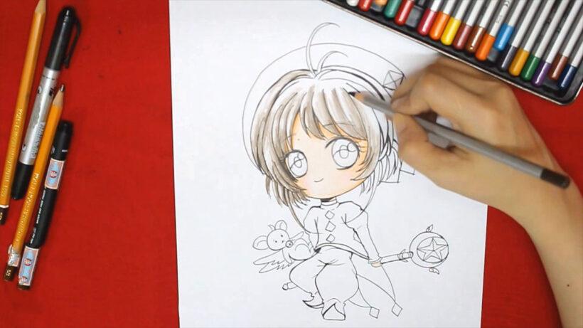 Cách vẽ anime chibi dễ thương