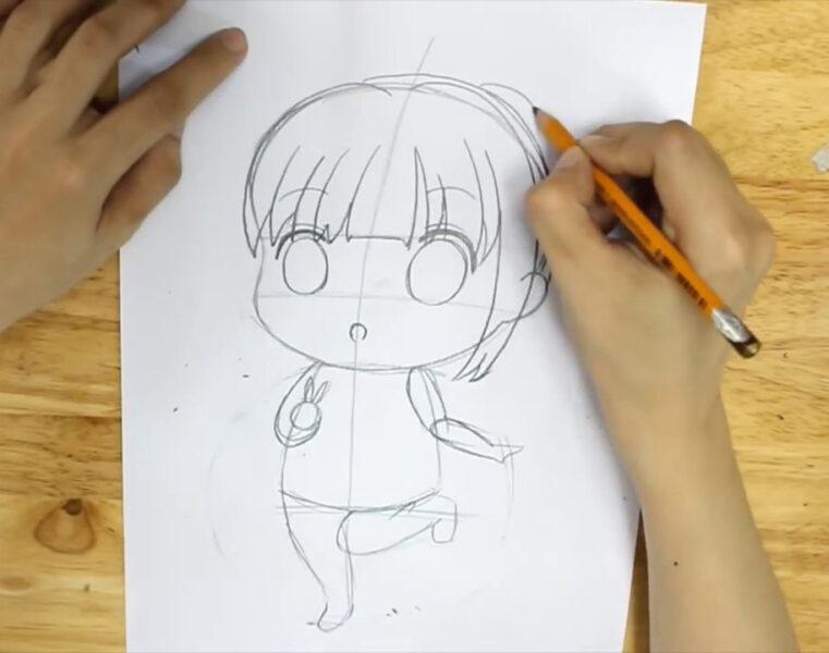Cách vẽ anime chibi đơn giản nhất