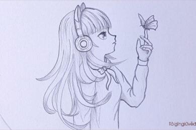 Cách vẽ anime cute, dễ thương. đẹp nhất