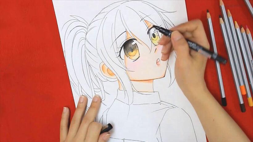 Cách vẽ anime đẹp