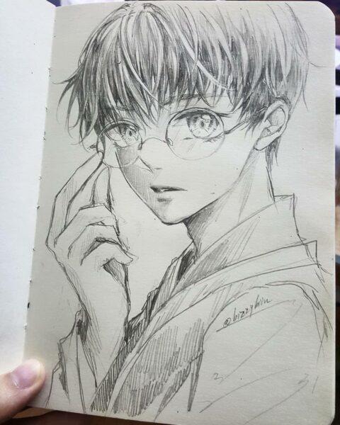 Cách vẽ anime nam