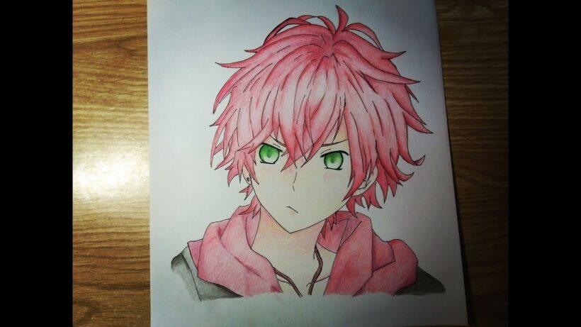 Cách vẽ anime nam đẹp
