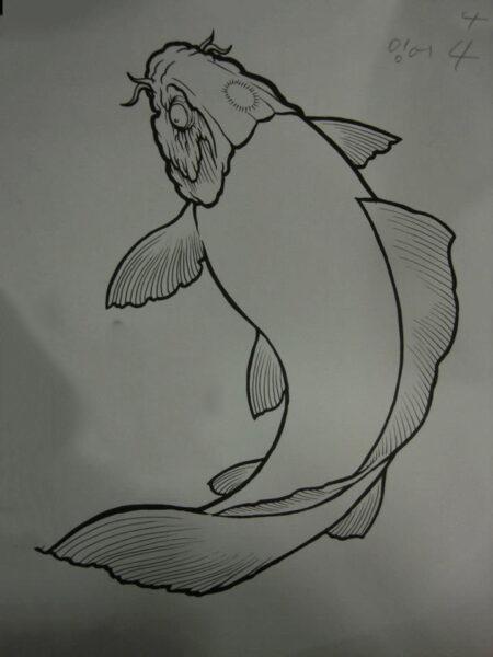 Cách vẽ Cá Chép