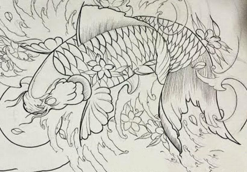 Cách vẽ Cá Chép đẹp