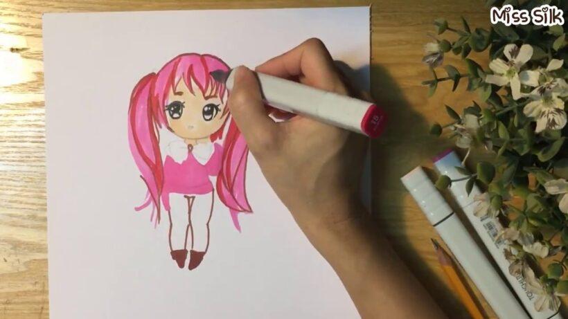 Cách vẽ Chibi