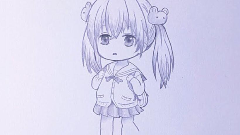 Cách vẽ Chibi cute