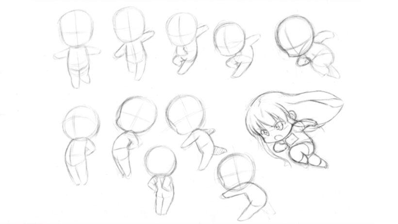 Cách vẽ Chibi dễ thương